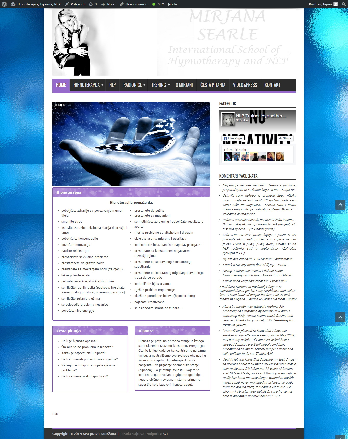 hipnoterapija crna gora
